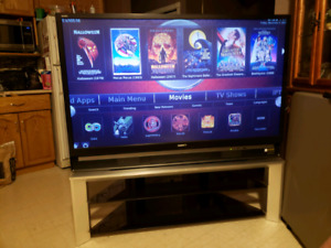 """60"""" Sony TV with a matching TV Stand"""