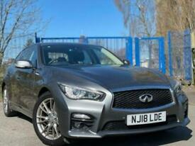 image for 2018 18 INFINITI Q50 2.1 SPORT D 4D 168 BHP DIESEL+LEATHER TRIM+1 KEEPER+GREY+LE