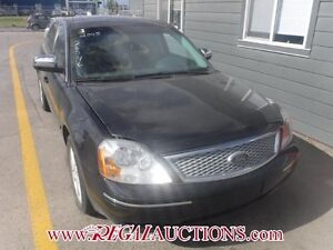 2005 FORD FIVE HUNDRED LIMITED 4D SEDAN AWD LIMITED