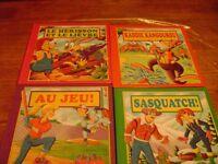 4 livres d enfant a 50c chacun
