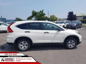 2015 Honda CR-V LX  AWD LOW KMS LOCAL TRADE CLEAN CARPROOF