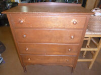Dressers, Bureaus, and Wardrobes (Choices see list & Photos`s