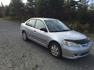 2004 Silver Honda Civic