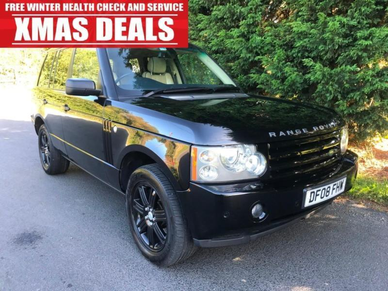 2008 LAND ROVER RANGE ROVER 3.6 TDV8 VOGUE SE AUTOMATIC 4X4 TURBO DIESEL