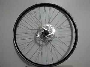 2009 Slightly used Front Wheel set with 160 mm Disc Rotor