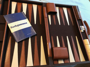 Backgammon Game and Trivia Game
