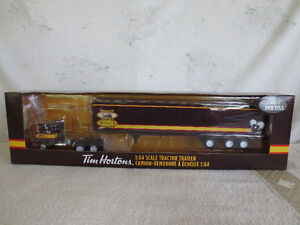 TIM HORTONS EMPLOYEE EDITION DIECAST TOY TRUCK TRACTOR TRAILER