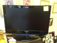 """Samsung 32"""" lcd TV free view HDMI scart ect"""