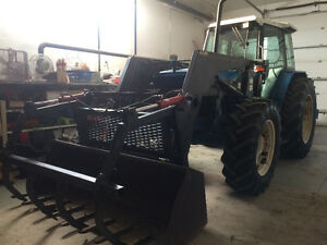 1994 8240 SLE FORD TRACTOR