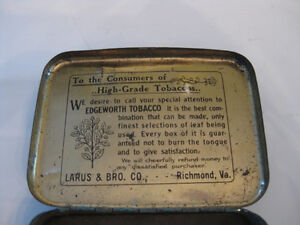 EDGEWORTH TOBACCO TIN BOX Kitchener / Waterloo Kitchener Area image 3