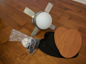 Ceiling fan, barely used, big discount