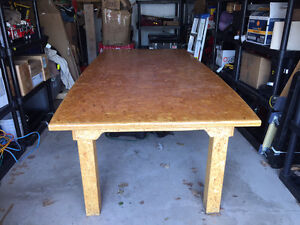 Large table (4ft/8ft) with removable top.