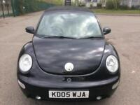 05 VOLKSWAGEN BEETLE CABRIOLET 1.8T BLACK LOW 67K FULL HISTORY LEATHER PX SWAPS