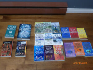 Lot of 19 Nora Roberts Books