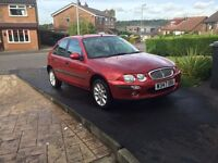 Rover 25, very low milage