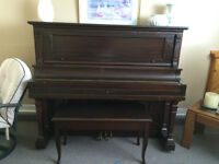 Piano and bench for sale!