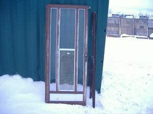 "Storm Doors, aluminum, 32"" and 34"""