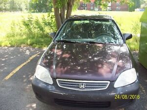 honda civic 2000 automatique