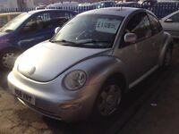 VW BEETLE 1948cc 3 DOOR HATCH 2000-W REG, SILVER, LOOK ONLY 2 FORMER KEEPERS