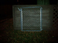 CHAIN LICK FENCE GATE