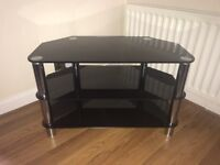 Cheap Black Glass TV Stand