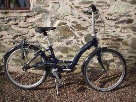 Dahon Briza D3 Folding Bicycle in Alluminium Little Used
