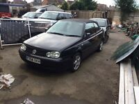 Golf mk4 convertible breaking for parts