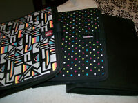 3 ring binders - Quiksilver and Boathouse