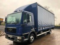 2011 61 MAN TGL 12.220 22ft7 curtainsider air suspension