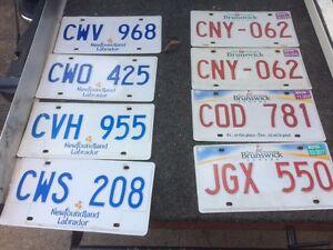Newfoundland & New Brunswick license plated Cambridge Kitchener Area image 1