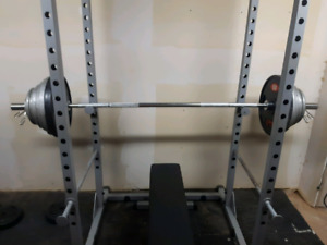 Power rack/Olympic weights