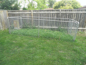 Dog Run Chain Link