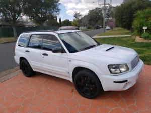 Subaru forester XT Luxury my04 2004 Turbo AWD