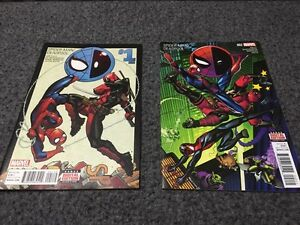 Spider-Man/Deadpool issues 1&2