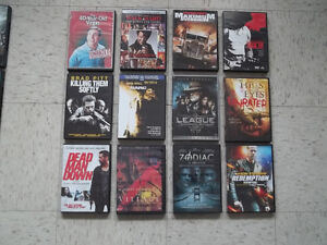 12 DVD Movies - Assorted