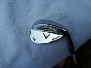Callaway Forged 58 degree Lob Wedge.