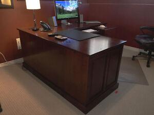 Desk, Bookcase & File