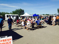 Chestermere Outside market Starting in May until September