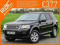 2014 Land Rover FREELANDER 2 2.2 TD4 Turbo Diesel GS 4x4 6 Speed Bluetooth Heate