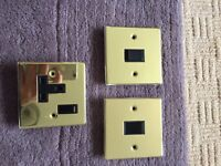 BRASS SOCKET / SINGLE LIGHT SWITCHES