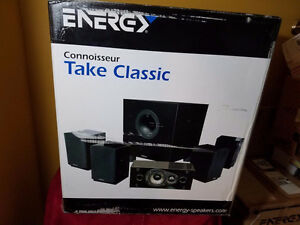 Energy Take Classic II 5.1 Speaker System - NEW in box