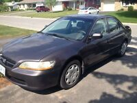 MUST SELL BY WEDNESDAY 1999 Honda Accord
