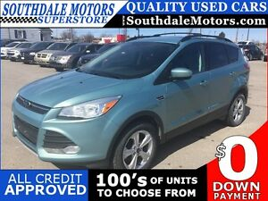 2013 FORD ESCAPE SE * AWD * LEATHER * BLUETOOTH