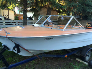 Running boat! Boat, motor and trailer reduced price