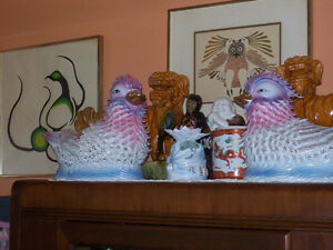 Chinese Glass Showpieces