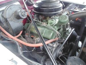 OLDSMOBiLE HOLYIDAY 98 only engine and parts