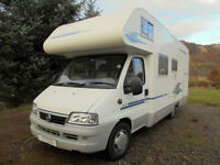 Adria Coral S 660 SP Motorhome for sale with large garage