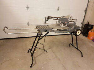 Rockwell Sawbuck Frame and Trim sliding miter saw