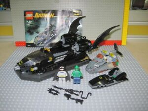 Lego Batman , Batboat: Hunt for Killer Croc , set 7780 COMPLET