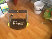 Smart wonder core exercising machine